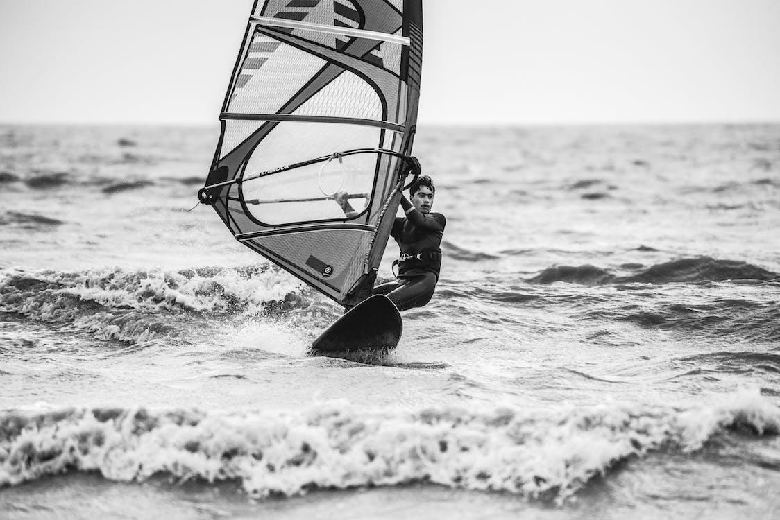 Surf, windsurfing, άθλημα