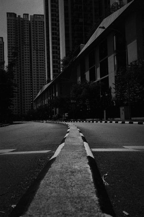Road Beside Buildings