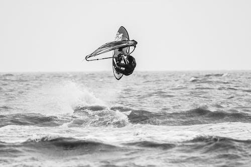 Δωρεάν στοκ φωτογραφιών με Surf, windsurfing, αέρας, άθλημα