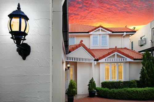 Photo Of House During Dawn