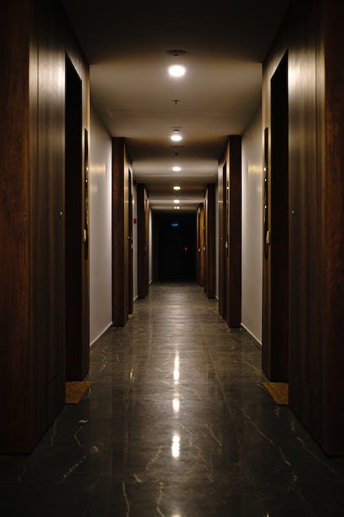 Free stock photo of building, corridor, empty