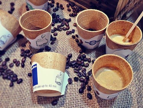 Fotos de stock gratuitas de bebidas calientes, café negro, granos de café, relajante