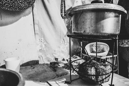 烹飪鍋, 石 的 免费素材照片