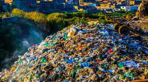 垃圾, 垃圾堆, 荒地 的 免费素材照片