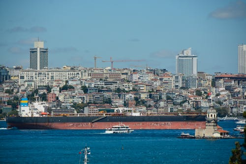 Foto profissional grátis de gemi, Istambul, kız kulesi