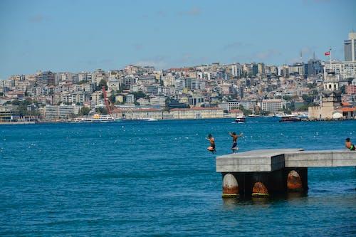 Foto profissional grátis de Istambul, istanbul boğazı, kız kulesi