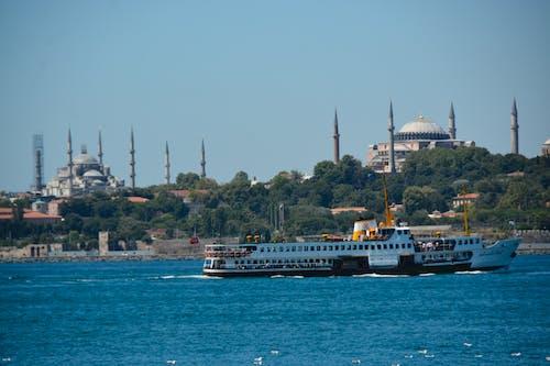 Foto profissional grátis de ayasofya cami, Istambul, istanbul boğazı