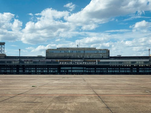 Free stock photo of airport, berlin, tempelhof, urbex