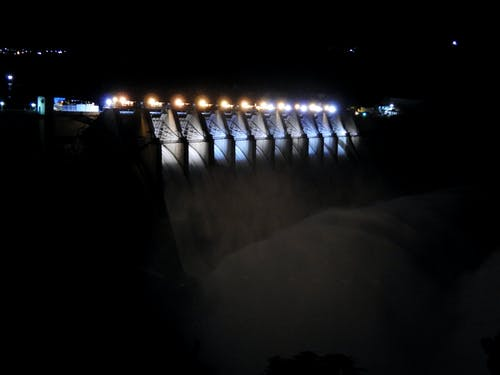 Free stock photo of Andhra Pradesh, beautiful, color lights, dam