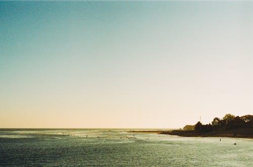 天空, 海, 海洋 的 免费素材照片