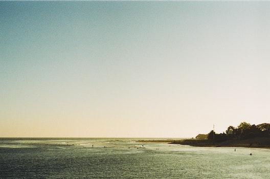 Free stock photo of sea, sky, ocean