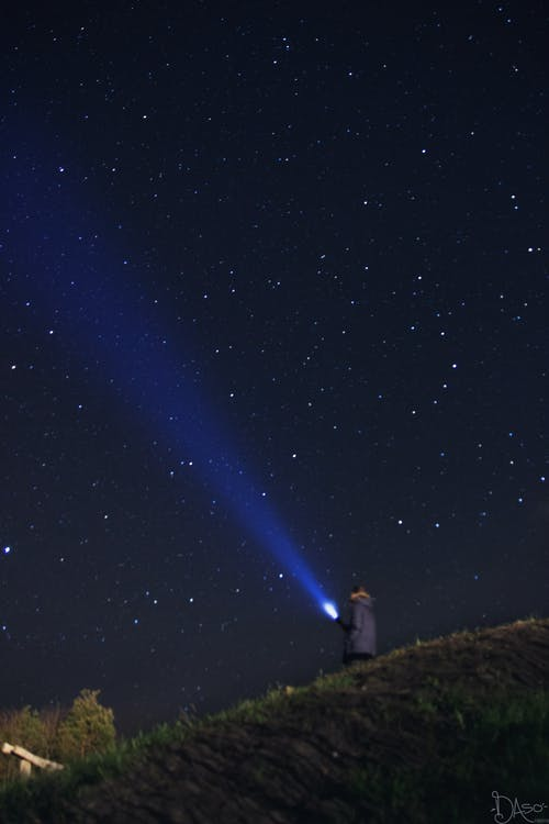 astrologie, astronomie, bleu