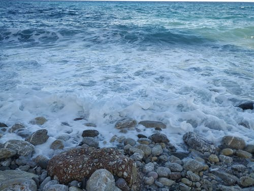 Free stock photo of sea, shore, waves