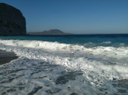 Free stock photo of sea, waves