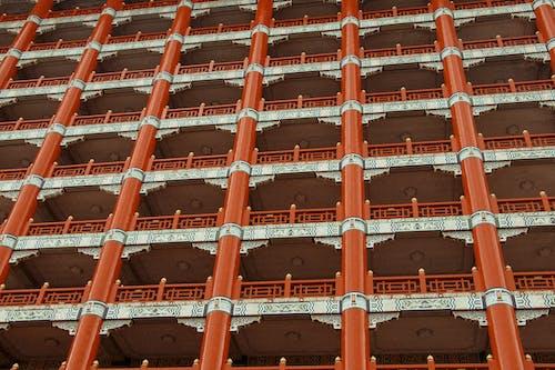 Základová fotografie zdarma na téma architektonický návrh, architektura, barvy, budova