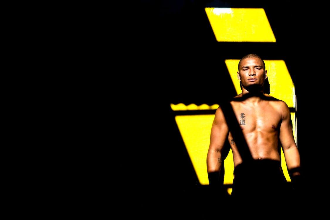bodybuilder, άνδρας, ανδρισμός