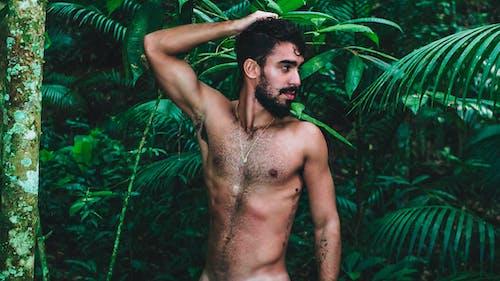 人, 半裸, 好看, 性感的 的 免費圖庫相片
