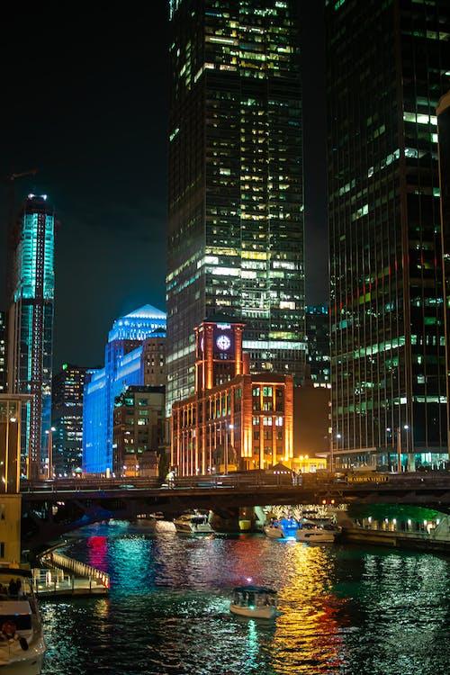 Бесплатное стоковое фото с архитектура, башня, берег реки, бизнес