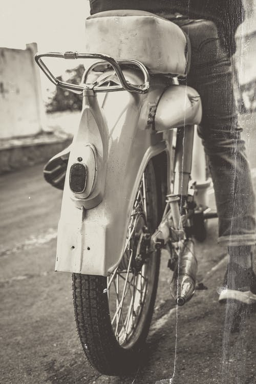 Free stock photo of motorcycle, vintage
