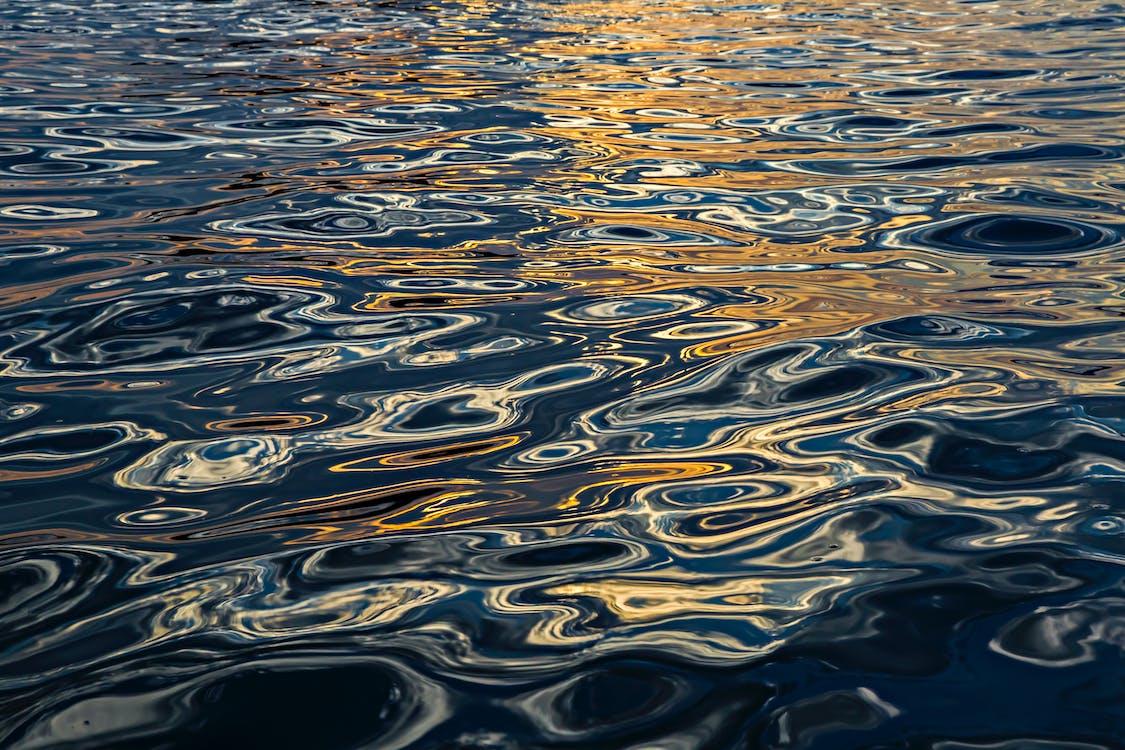 H2O, абстрактний, брижі