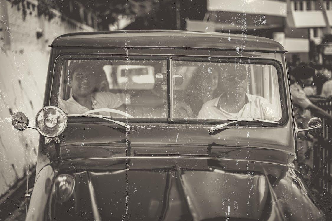 ретро, старинный автомобиль