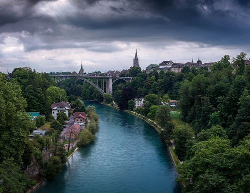 Free stock photo of bern, bridge, capital city, cityscape