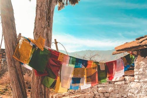 Foto d'estoc gratuïta de aventura, bandera, bhutan, descobrir