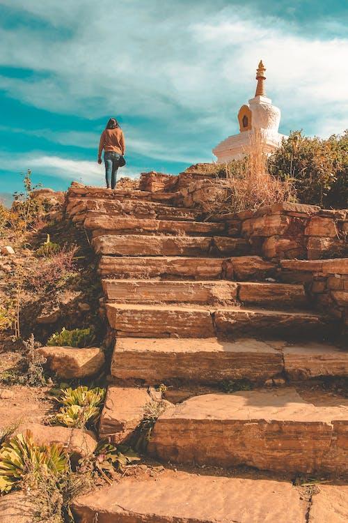 Photos gratuites de aventure, bhoutan, découvrir, escalier