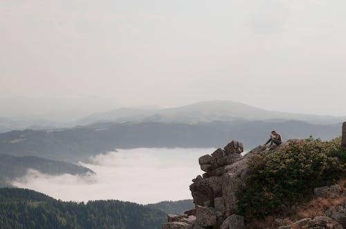 Imagine de stoc gratuită din ceață, eroziune, formațiune geologică, formațiuni stâncoase