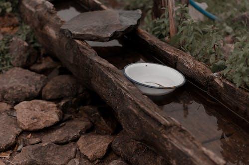 Darmowe zdjęcie z galerii z drewno, kamienie, krajobraz, kłoda