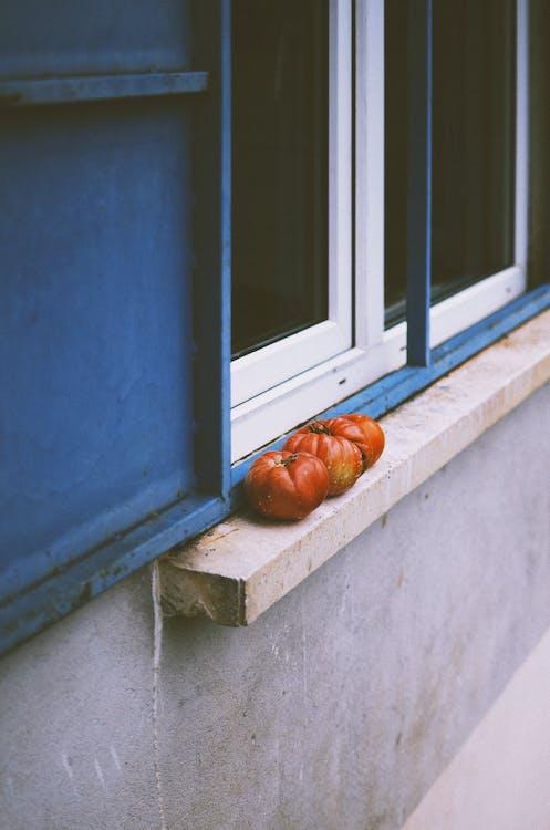 afară, exterior, fereastră