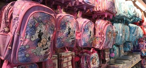Fotos de stock gratuitas de de vuelta a la escuela, mochilas, mochilas escolares para niña