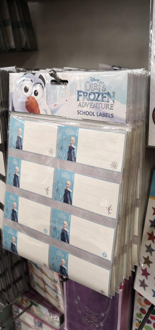 Fotos de stock gratuitas de de vuelta a la escuela, material escolar, pegatinas