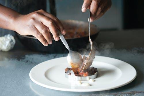 廚師, 食品攝影, 食物擺盤 的 免费素材照片