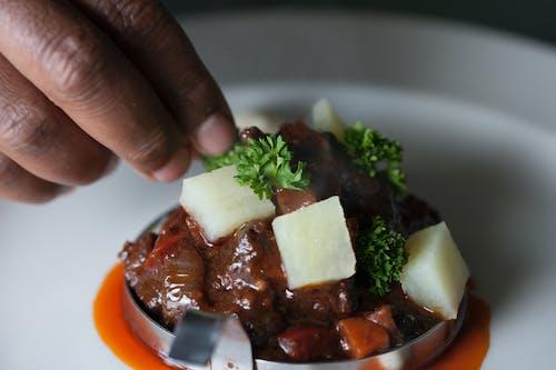 廚師, 美食, 食品攝影, 食物擺盤 的 免费素材照片