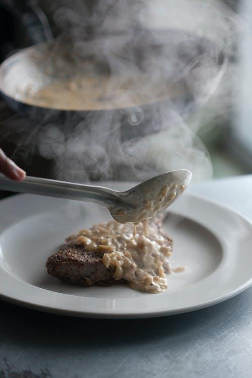 廚師, 蒸汽, 食品攝影, 食物擺盤 的 免费素材照片