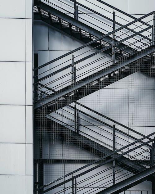 Immagine gratuita di architettura, edificio, passi, scale