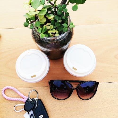 休闲时光, 咖啡, 墨鏡, 工厂 的 免费素材照片