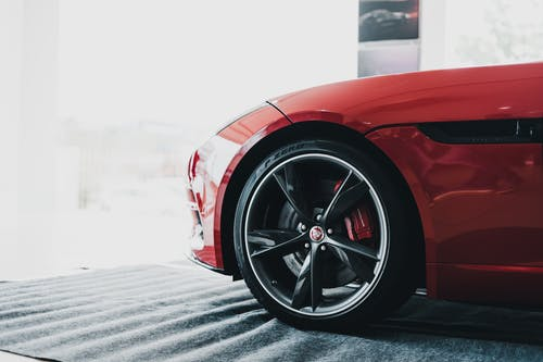 Close-Up Photo Of Car Rims