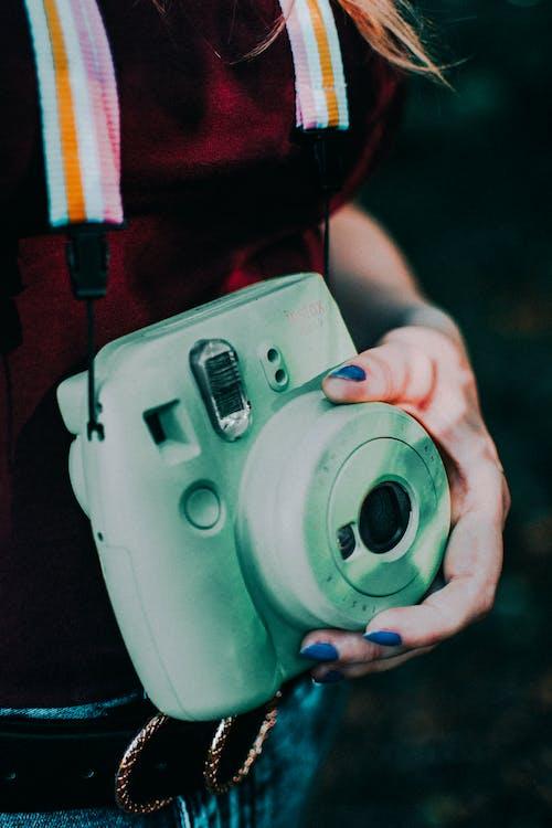 Imagine de stoc gratuită din aparat de fotografiat, aparat foto instant