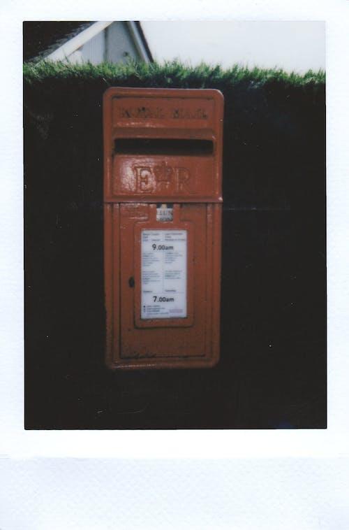 Orange Mailbox