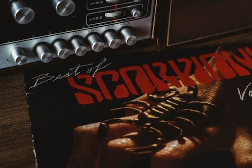 Free stock photo of scorpions, vinyl record