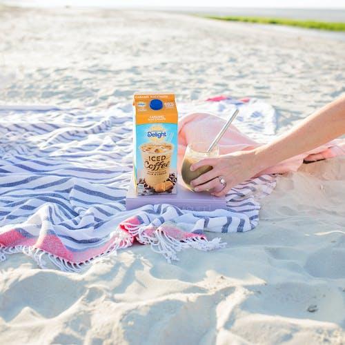 Imagine de stoc gratuită din carte de cafea plajă