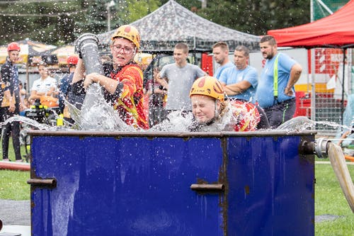 Free stock photo of competition, fireman, girls