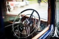 car, windshield, steering wheel
