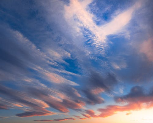 Бесплатное стоковое фото с голубое небо, небо, облако, облачное небо