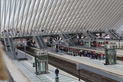 Free stock photo of architecture, modern, rooftop, train station
