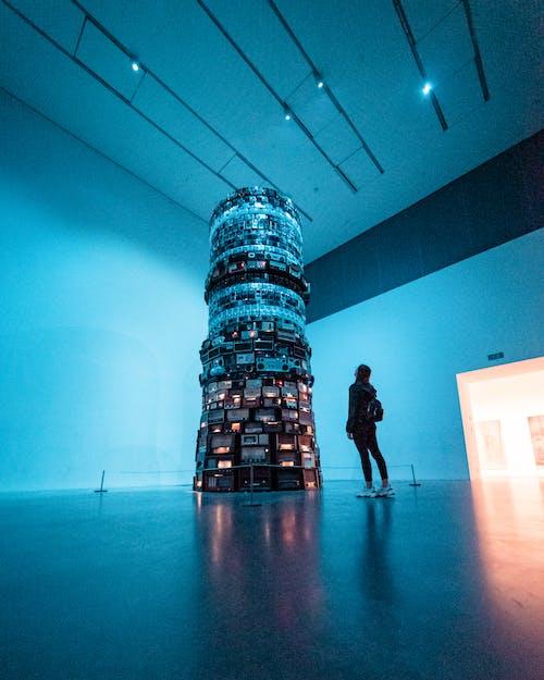 光, 博物館, 反射, 商業 的 免費圖庫相片
