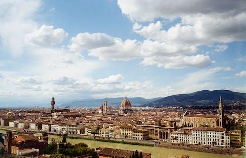 佛羅倫薩, 佛羅倫薩大教堂, 假期, 城市景觀 的 免費圖庫相片