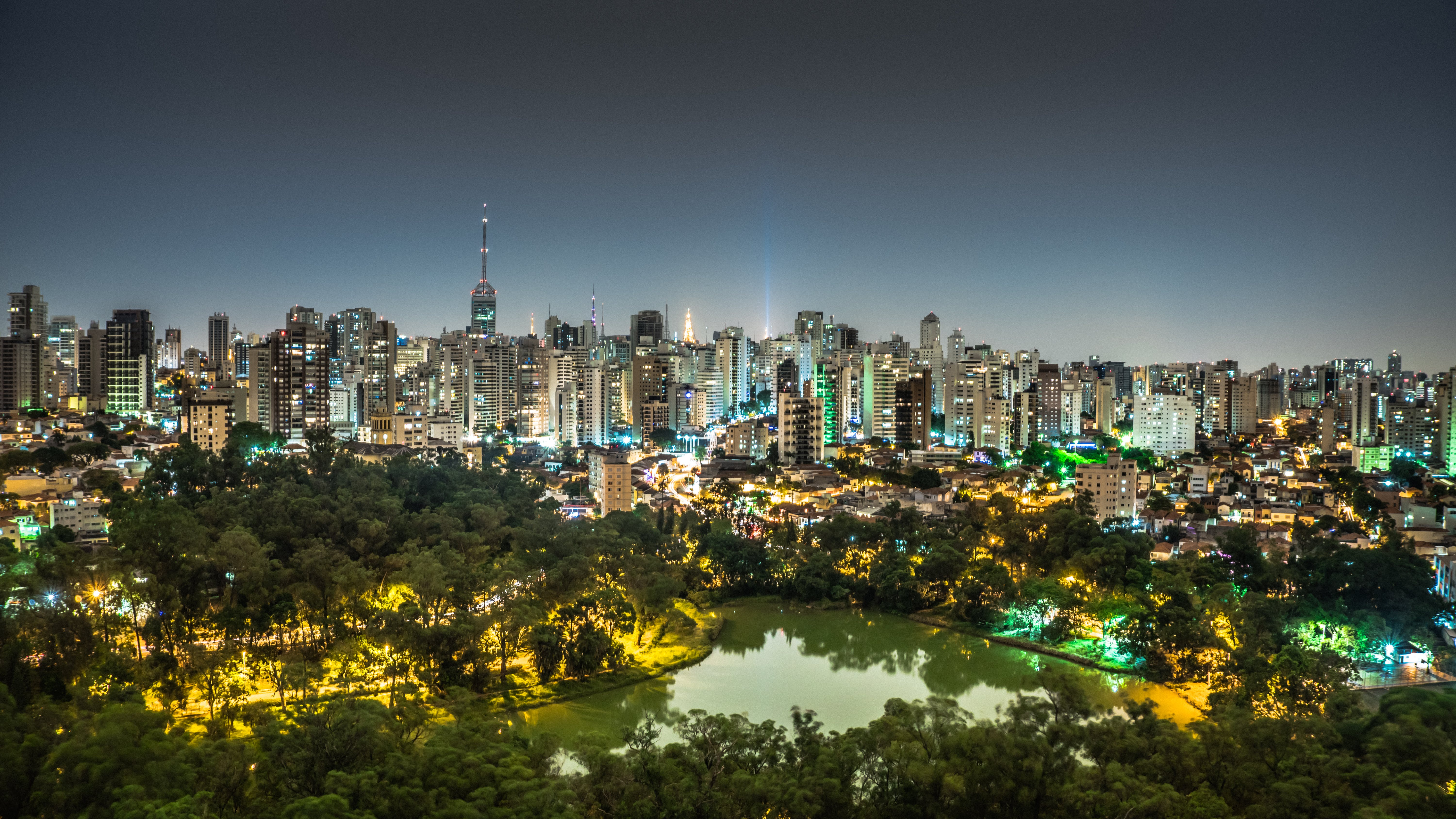 Aerial Photography of Central Park in New York